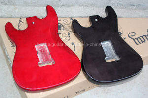 Hanhai Music / Red (Black) Electric Guitar Kits with Alder/Basswood/Mahogany Body / DIY Guitar pictures & photos