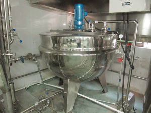 Jacketed Kettle Jacketed Cooking Kettle pictures & photos