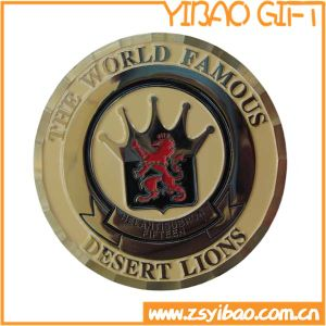 Plated Gold Metal Souvenir Coin for Events (YB-c-046) pictures & photos