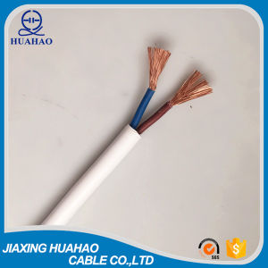 PVC Flat Sheathed Flexible Electric Cable (H05VV-F 2G2.5mm2) pictures & photos