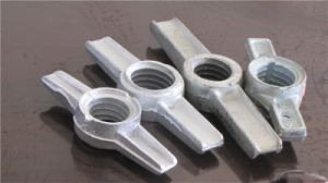 Scaffolding Jack Base Nut Casting Type or Forged Type pictures & photos