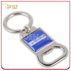 Personalized Printed & Epoxy Coated Metal Bottle Opener Key Chain pictures & photos