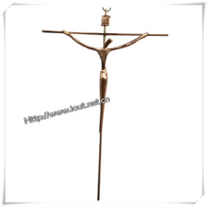 Home Decoration Metal Catholic Wall Crucifix (IO-ca080) pictures & photos