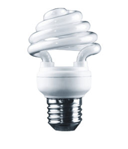 8W T2 Half Spiral Energy Saving CFL Lamp (BNFT2-HS-D) pictures & photos