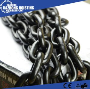 20mm Huaxin G80 Steel Chain Black Lashing Chain pictures & photos