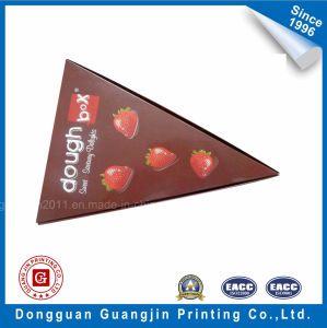Triangle Shape Colorful Design Art Paper Food Packaging Box pictures & photos