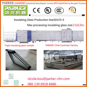 Vertical Insulating Glass Production Line, Double Glazing Glass Making Machine pictures & photos