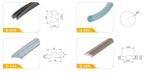 Export Plastic Extrusion PVC Window Profile From China Manufacturer Q-008 pictures & photos
