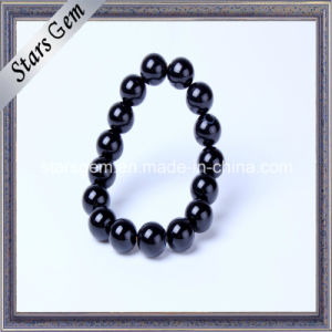 Natural Black Agate Bracelet for Jewelry pictures & photos