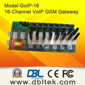 DBL16 Ports GSM Gateway GoIP16 pictures & photos