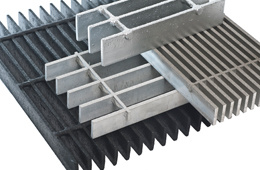 Custom Flat Galvanized Steel Grating Made in Hebei China pictures & photos