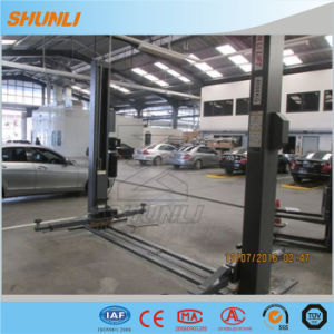 Manual Release 4 Ton Car Lift pictures & photos