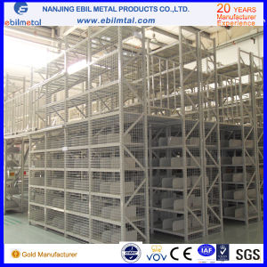 Steel Multi-Tiers Mezzanine Rack / Shelving for Factory / Warehouse Storage pictures & photos