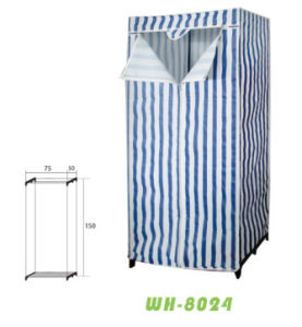 2015 New Design Non-Woven Fabric Cloth Wardrobe