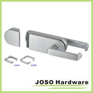 Shaking Door Hardware Fitting Sliding Glass Door Extra Lock (GDL018B-2) pictures & photos