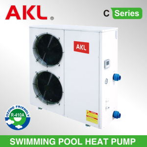 High Quality Air Source Heat Pump Swimming Pool Heater pictures & photos