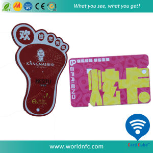 Non-Standard Hotel Key PVC Dual/Combo Card pictures & photos