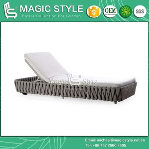 Modern Sunlounger Bandage Daybed Outdoor Sunlounger New Design pictures & photos