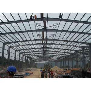 Low Cost Home Prefabricated Light Steel Structure Warehouse pictures & photos