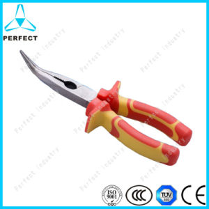 """6"""" VDE Polished Finishing Bent Nose Pliers pictures & photos"""