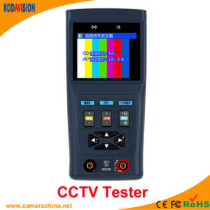 2.8 Inch LCD CCTV Tester with Digital Multimeter pictures & photos