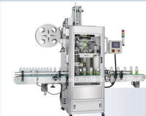 Automatic Pet Bottle Sleeve Labeling Machine for Shrinking Label pictures & photos