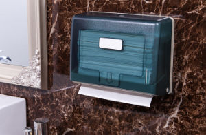 Commercial Paper Towel Dispenser with Transparent Ink Green (KW-718) pictures & photos