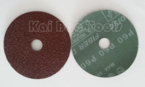 Aluminium Oxide Fiber Disc Red Sand Coated Abrasive Disc pictures & photos