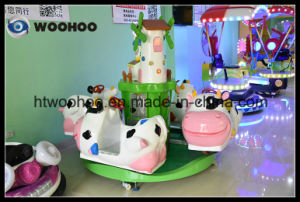 Coin Operated Machine Indoor Playground Pasture Merry-Go-Round Whirligig pictures & photos
