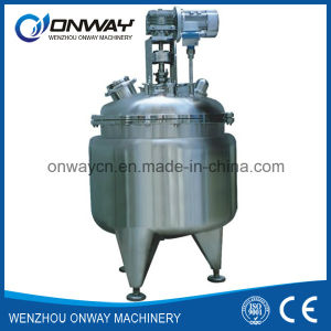 Pl Stainless Steel Jacket Emulsification Mixing Tank Oil Blending Machine Mixer Sugar Solution Shampoo Mixing Tank pictures & photos
