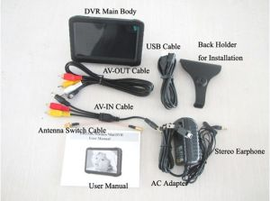 2.4GHz Portable Small Wireless Gutter Cleaning Inspection Camera with 5inch Monitor DVR pictures & photos