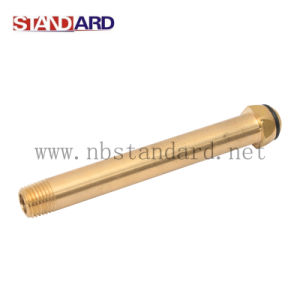 Brass Gas Fitting with Long Pipe pictures & photos