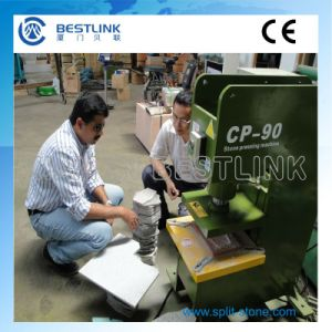 Electric Stone Stamping Machine for Recycling Waste Stones pictures & photos