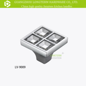 Zinc Alloy Luxurious Crystal Cabinet Kitchen Handles pictures & photos
