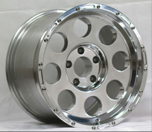 17X9 Fake Bead-Lock Alloy Wheel Rims Polished pictures & photos
