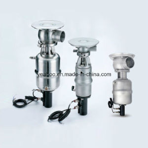 Sanitary Stainless Steel Tank Bottom Valve T and F Type