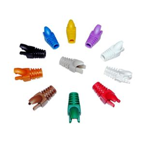 Colors CAT6 RJ45 Rubber Boot RJ45 Cat5e Connector Boots pictures & photos
