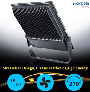 High Quality CE/RoHS Approved Black IP65 Outdoor 80W LED Floodlight pictures & photos