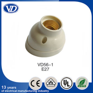 E27 Plastic Wall Lamp Holder Socket Vd56-1