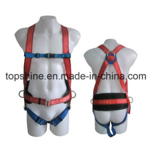Industrial Polyester Adjustable Good Quality Professional Full-Body Harness Safety Belt pictures & photos
