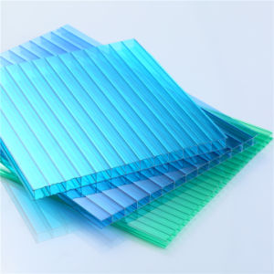 Double Wall Polycarbonate Hollow Sheet pictures & photos
