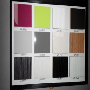 Solid Color UV MDF (ZH-950) pictures & photos
