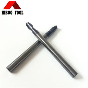 Long Shank HRC55 Ball Nose Carbide Cutter for Metal pictures & photos