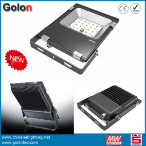 Streamline Stylelish Design Flood Light with Philipssmd IP65 Waterproof Sosen CE TUV Driver Floodlight 10W 20W 30W LED Flood Lights pictures & photos