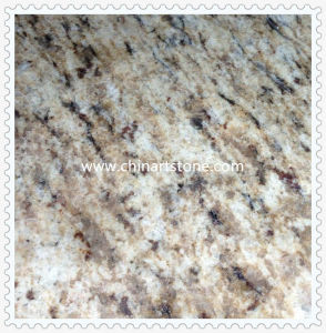 White Black Yellow Golden Polished and Flamed Granite Tiles pictures & photos