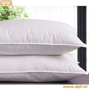 Cotton Fabric Hight Quality Duck Down Pillow (DPF9090) pictures & photos