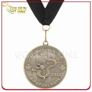 Dragon Boat Festival Participant Embossed Metal Souvenir Medal pictures & photos