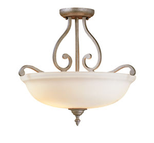 Antique Semi Flush/Ceiling Lamp (1133VI)