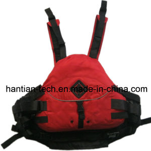 Fashionable Outdoor Sport Kayak Lifejacket for Lifesaving and Safety (HTNG-55) pictures & photos