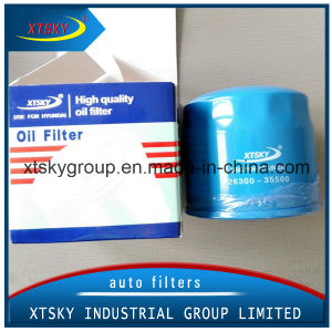 Hot Sale Auto Oil Filter 26300-35500 pictures & photos